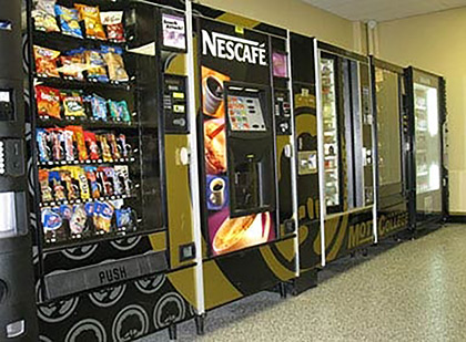 West Virginia FREE vending Machine services