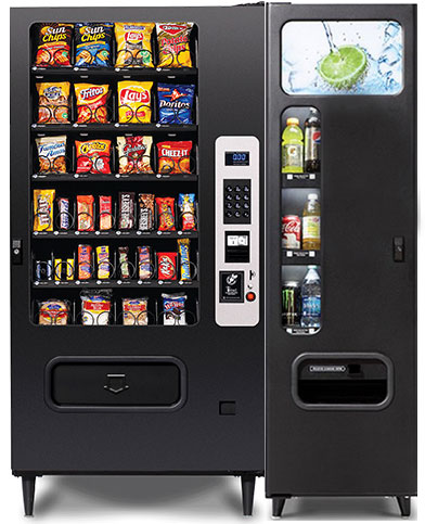 Combo Vending Machines | Snack & Soda Combo Vending Machines